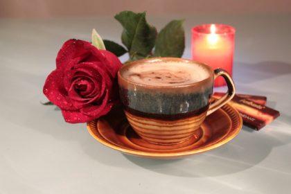 コーヒーとキャンドル
